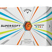 Callaway Supersoft Multi-Colored Golf Balls – Prior Generation