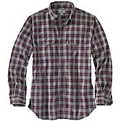 Carhartt Men's Fort Plaid Long Sleeve Shirt