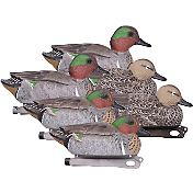 Hard Core Green-Wing Teal Duck Decoy – 6 Pack