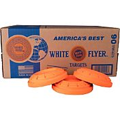 White Flyer Biodegradable American Trap and Skeet Target