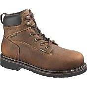 "Wolverine Men's Brek 6"" Waterproof DuraShocks Steel Toe Work Boots"