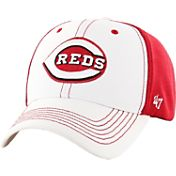 '47 Men's Cincinnati Reds Cooler MVP White/Red Adjustable Hat