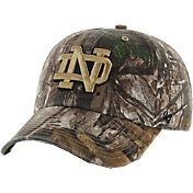 '47 Men's Notre Dame Fighting Irish Camo Clean Up Adjustable Hat