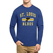 '47 Men's St. Louis Blues Club Royal Long Sleeve T-Shirt