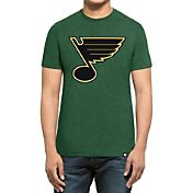 '47 Men's St. Patty's Day St. Louis Blues Club Logo T-Shirt