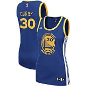 adidas Women's Golden State Warriors Steph Curry #30 Road Royal Replica Jersey