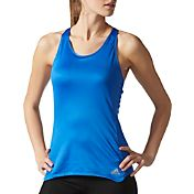 adidas Women's Response Two-In-One Cup Running Tank Top