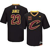 adidas Youth Cleveland Cavaliers LeBron James #23 Pride Black Replica Jersey
