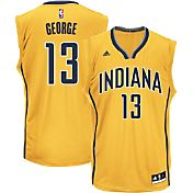 adidas Youth Indiana Pacers Paul George #13 Alternate Gold Replica Jersey