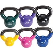 Body Solid 5-20 lb. Vinyl Kettlebell Set