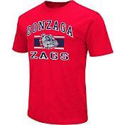 Colosseum Athletics Men's Gonzaga Bulldogs Red Dual Blend T-Shirt