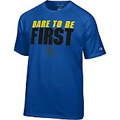 Champion Men's Delaware Fightin' Blue Hens Blue Football Slogan T-Shirt