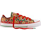 Converse Kids' Grade School Chuck Taylor All Star Gingerbread Low-Top Casual Shoes
