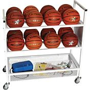 Champion Double Wide Ball Cart
