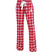 Concepts Sport Women's Alabama Crimson Tide Crimson/Grey Captivate Plaid Sleep Pants