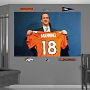 Fathead Peyton Manning Broncos Jersey Mural Wall Graphic