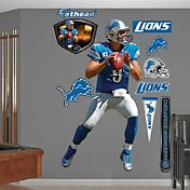 Fathead Matthew Stafford #9 Detroit Lions Real Big Wall Graphic