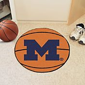 FANMATS Michigan Wolverines Basketball Mat