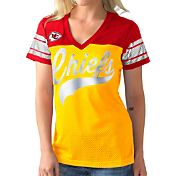 G-III for Her Women's Kansas City Chiefs Pass Rush Jersey Top
