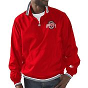 Starter Men's Ohio State Buckeyes Scarlet The Player Jacket