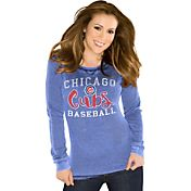 Touch by Alyssa Milano Women's Chicago Cubs Royal Thermal Long Sleeve Shirt