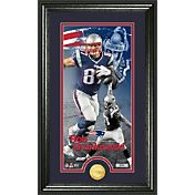 The Highland Mint New England Patriots Rob Gronkowski Framed 'Supreme' Bronze Coin Photo Mint