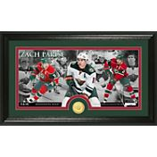 Highland Mint Minnesota Wild Zach Parise Panoramic Photo and Commemorative Coin Mint