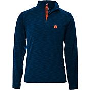Levelwear Men's Auburn Tigers Blue Mobility Quarter-Zip