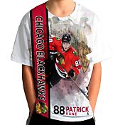 Levelwear Youth Chicago Blackhawks Patrick Kane #88 Breakaway White T-Shirt