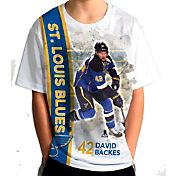 Levelwear Youth St. Louis Blues David Backes #42 Breakaway White T-Shirt