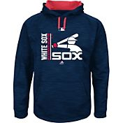 Majestic Men's Chicago White Sox Therma Base On-Field Navy Authentic Collection Pullover Hoodie