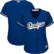 Majestic Women's Replica Los Angeles Dodgers Cool Base Alternate Royal Jersey
