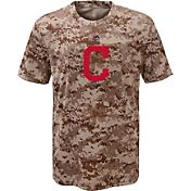 Majestic Youth Cleveland Indians Cool Base Digi Camo T-Shirt