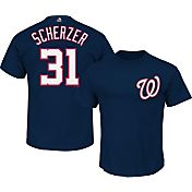 Majestic Youth Washington Nationals Max Scherzer #31 Navy T-Shirt