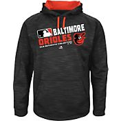 Majestic Youth Baltimore Orioles On-Field Black Authentic Collection Pullover Hoodie