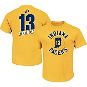 Majestic Youth Indiana Pacers Paul George #13 Gold T-Shirt