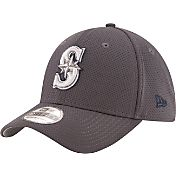 New Era Men's Seattle Mariners 39Thirty Tone Tech Grey Flex Hat