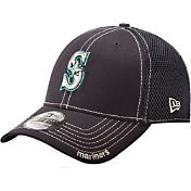 New Era Men's Seattle Mariners 39Thirty Neo Navy Flex Hat