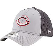 New Era Men's Cincinnati Reds 39Thirty Grayed Out Grey Flex Hat
