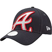 New Era Men's Atlanta Braves 9Forty Glitter Glam Adjustable Hat