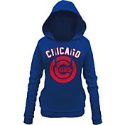 5th & Ocean Women's Chicago Cubs Royal Pullover Hoodie