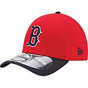 New Era Youth Boston Red Sox 39Thirty Diamond Era Red Flex Hat
