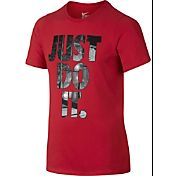 Nike Boys' Just Do It Playground Graphic T-Shirt