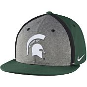 Nike Men's Michigan State Spartans Green/Grey Sideline True Adjustable Performance Hat