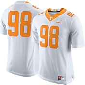 Nike Men's Tennessee Volunteers White #98 Limited Football Jersey