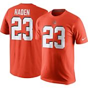 Nike Men's Cleveland Browns Joe Haden #23 Pride Orange T-Shirt