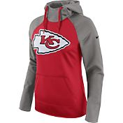 Nike Women's Kansas City Chiefs Tailgate All-Time Grey Hoodie