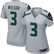 Nike Women's Alternate Game Jersey Seattle Seahawks Russell Wilson #3