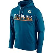 Nike Youth Miami Dolphins Circuit Navy Pullover Hoodie