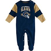 NFL Team Apparel Infant's Los Angeles Rams Newborn Coverall